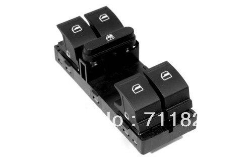 Przełącznik dla okien elektrycznych dla volkswagena dla VW Golf Jetta MK5 Passat B6 Touran MK1