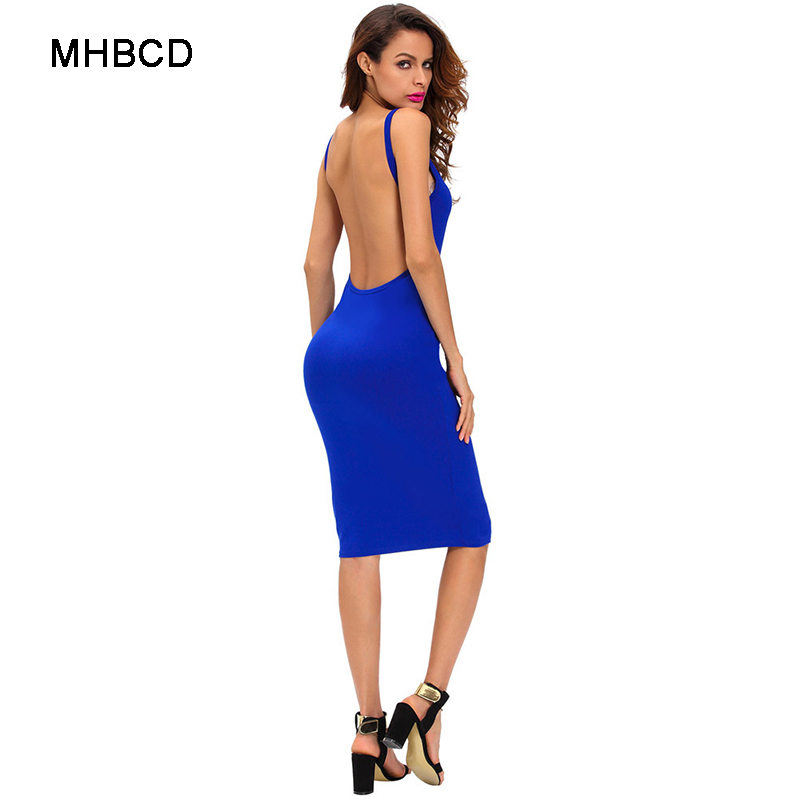 MHBCD Summer Halter Hollow O Neck Sexy Dress Women Fashion Club Office  Party Beach Plus Size Dresses Ukraine Casual New Clothes-in Dresses from  Women s ... 3e19d32b8518