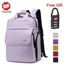 Tigernu 2017 Preppy School Backpacks for Teenagers Boys Girl College Backpack Five colors Women Backpack Male