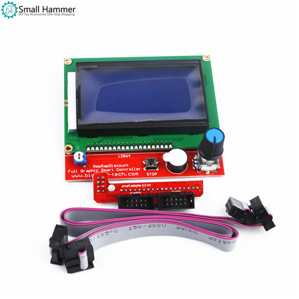 3D Printer Accessories 1.4 LCD12864 Intelligent Controller LCD Control Panel