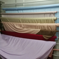Silk Fabric 100% Mulberry 300cm Width 19mm Silk Solid Color Multicolor Plain Dyed Silk Dress Fabric Bedding Scarf LS030019001