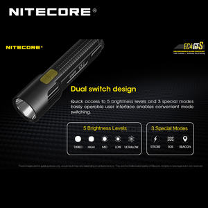 Image 4 - Wysokowydajna latarka Nitecore EC4GTS CREE XHP35 HD LED 1800 lumenów