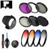 Uv Cpl Fld Ster Nd Geleidelijke Kleur Filter Lens Hood Cap Voor Panasonic Hc V750 V760 V770 VX870 WX970 W850 w850M VX980 VX981