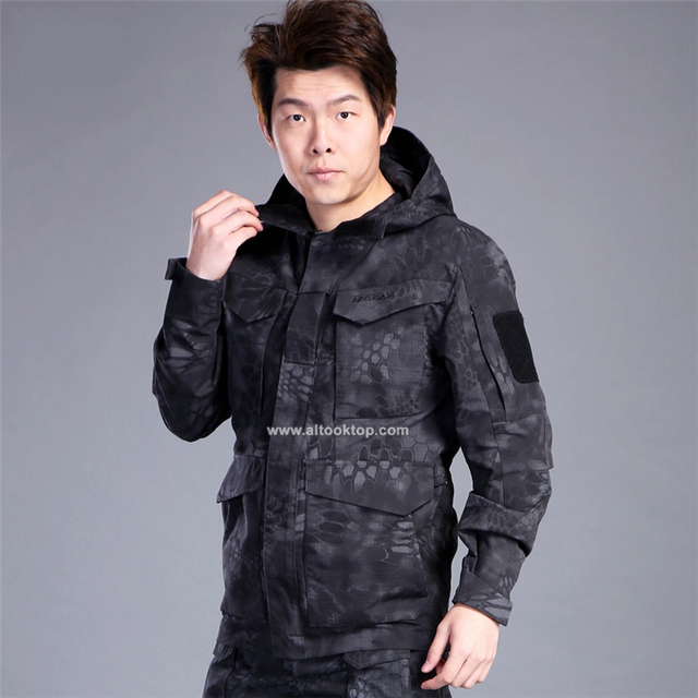 f9ef0359eda Military Jacket army clothes tactical windbreaker men winter autumn  waterproof pilot coat hoodie camouflage clothing