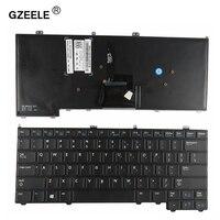 GZEELE US English Version Keyboard For Dell For Latitude 12 7000 E7440 E7240 E7420 E7420D Laptop