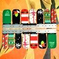 30 estilo Prego Envolve Adesivos, Retro Merry Xmas Papai Noel Designs, à prova d' água Artes Unhas Gel Polonês Foils Manter 2-3 semanas