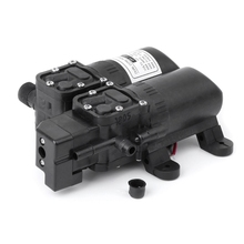 цена на High Power Pressure Double Pump 12V DC Mini Electric Water Motor Machine
