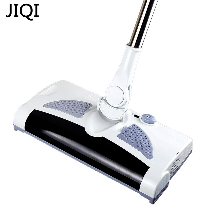 JIQI Rechargeable Electric Sweeping Machine Wireless Hand Push Dustpan Floor Dust Clean Sweeper Robot Vacuum Cleaner Automatic eworld m883 vacuum cleaner smart sweeping rechargeable robot vacuum cleaner remote controlled automatic dust home cleaner