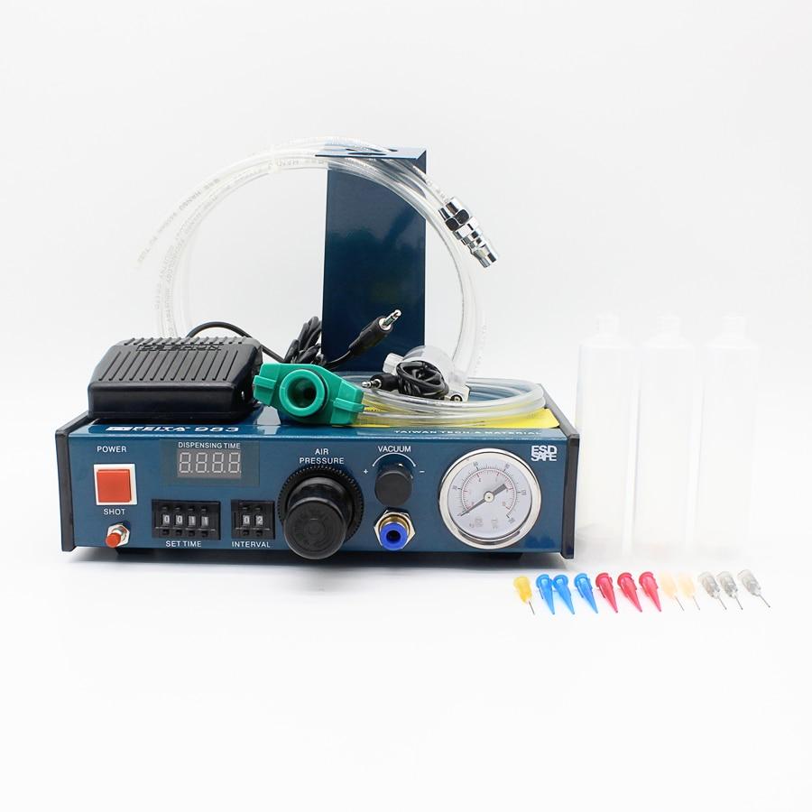 epoxy resin dispensing machine ,Automatic glue dispenser FT-983 high quality ft 982 automatic glue dispenser dispensing machine with glue tips