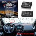 Автомобиль Информация Об Проекционный Экран Для NISSAN Juke/Murano NV2500/NV350 Безопасного Вождения Refkecting Лобовое Стекло HUD Head Up Display