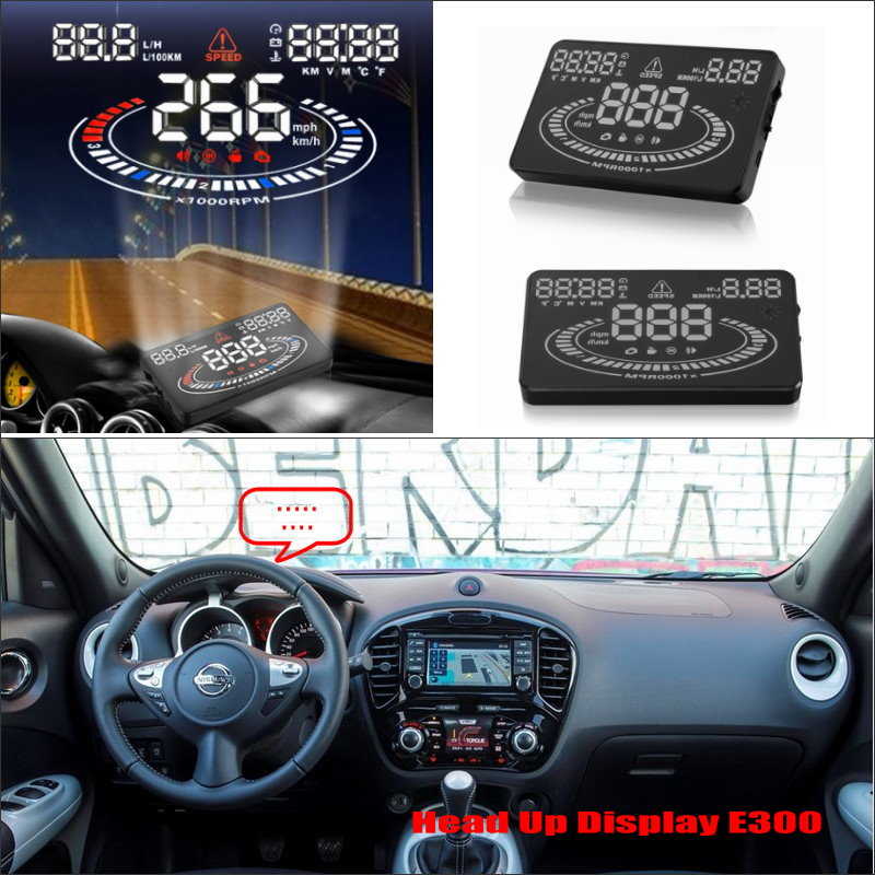 Car Information Projector Screen For NISSAN Juke / Murano NV2500 / NV350 Safe Driving Refkecting Windshield HUD Head Up Display