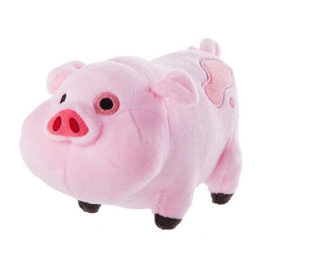 1pcs 16cm Plush Toys Gravity Falls Waddles Pink Pig Dolls & Stuffe free shipping