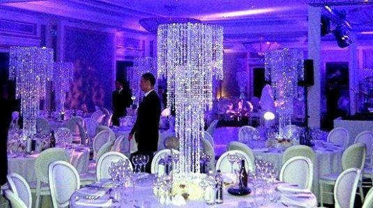 2017 Acrylic Crystal Wedding Centerpiece Decoration 90CM Tall Diameter Is 35cm 10PCS Lot