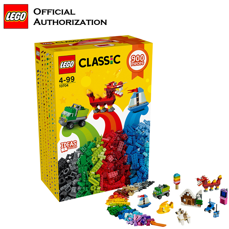 900 Pcs Building Blocks Lego Classic Series Box Kids Play Toy 10704 Free Blocks Building Toys For Children Christmax Gift telecool 536 pcs knight series lion king castle 1010 building blocks brick set toy for kids christmas gift