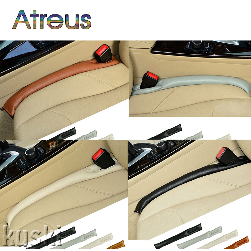 Atreus Car Styling Seat Gap Filler Pad Cover For Mazda 3 6 cx-5 Hyundai tucson Accessories for Hyundai Creta Solaris IX35 IX25