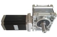 NMRV30 Worm Gearbox Ratio 30:1 geared NEMA23 stepper motor 3NM 112mm 4.2A CNC kit