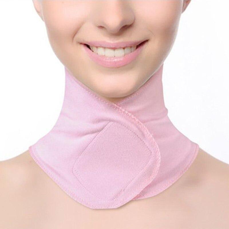 SPA Gel cuello Mascarilla Anti arrugas cuidado de la piel hidratante cuello membrana blanqueamiento reparación cuello membrana