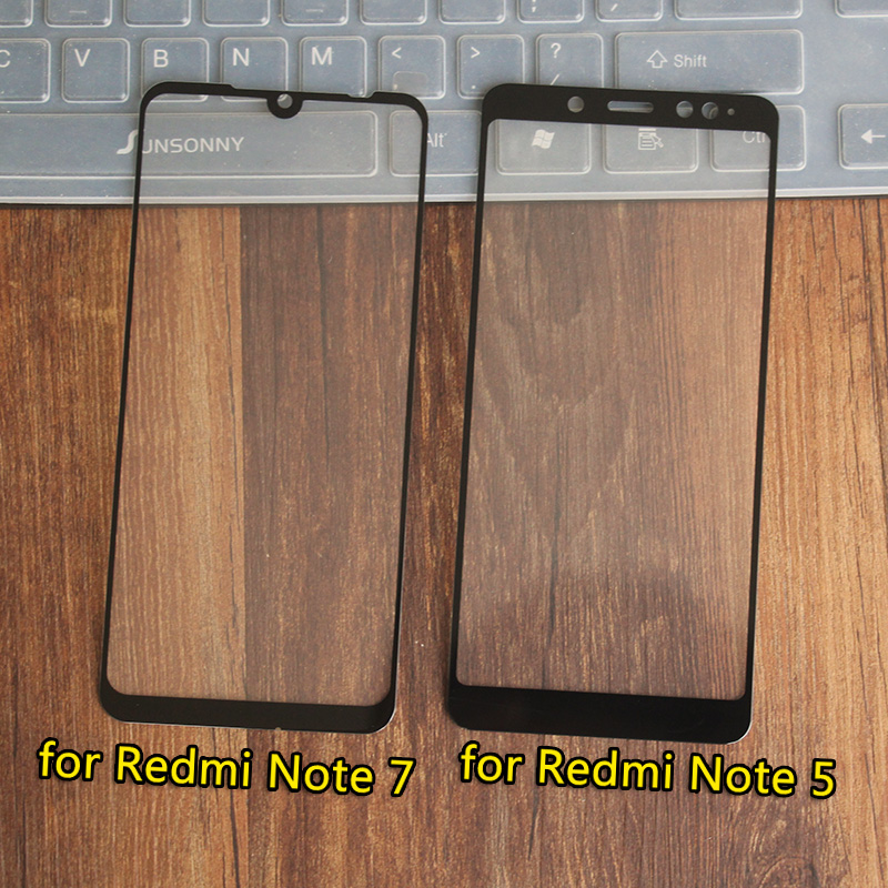 For xiaomi redmi 5 glass tempered full cover prime screen protector for redmi 5 plus Note5Pro Mobile phone Protective glass film