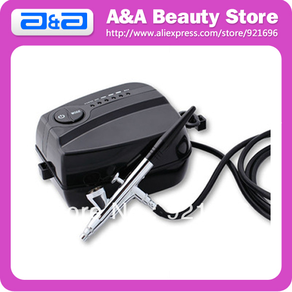 Фотография Airbrush Makeup Kit , Portable Makeup Airbrush System; Mini Airbrush Makeup