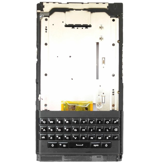 100% Orig + keyboard For BlackBerry Priv STV100-1-2-3-4 Metal Front Middle LCD Screen Housing Frame Bezel Chassis Replacement