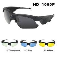 2019 New Sunglasses Mini Camera Mini DV Camcorder DVR Video Camera HD 1080P For Outdoor Action Sport Camera Audio Video Recorder