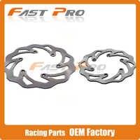 Motocicleta Parte Dianteira & Parte Traseira EXCF Conjunto Rotor Disco de Freio Para KTM EXC SX SXF XCW XC XCF XCFW 380 300 350 SXC SXS SC LC4 Seis Dias