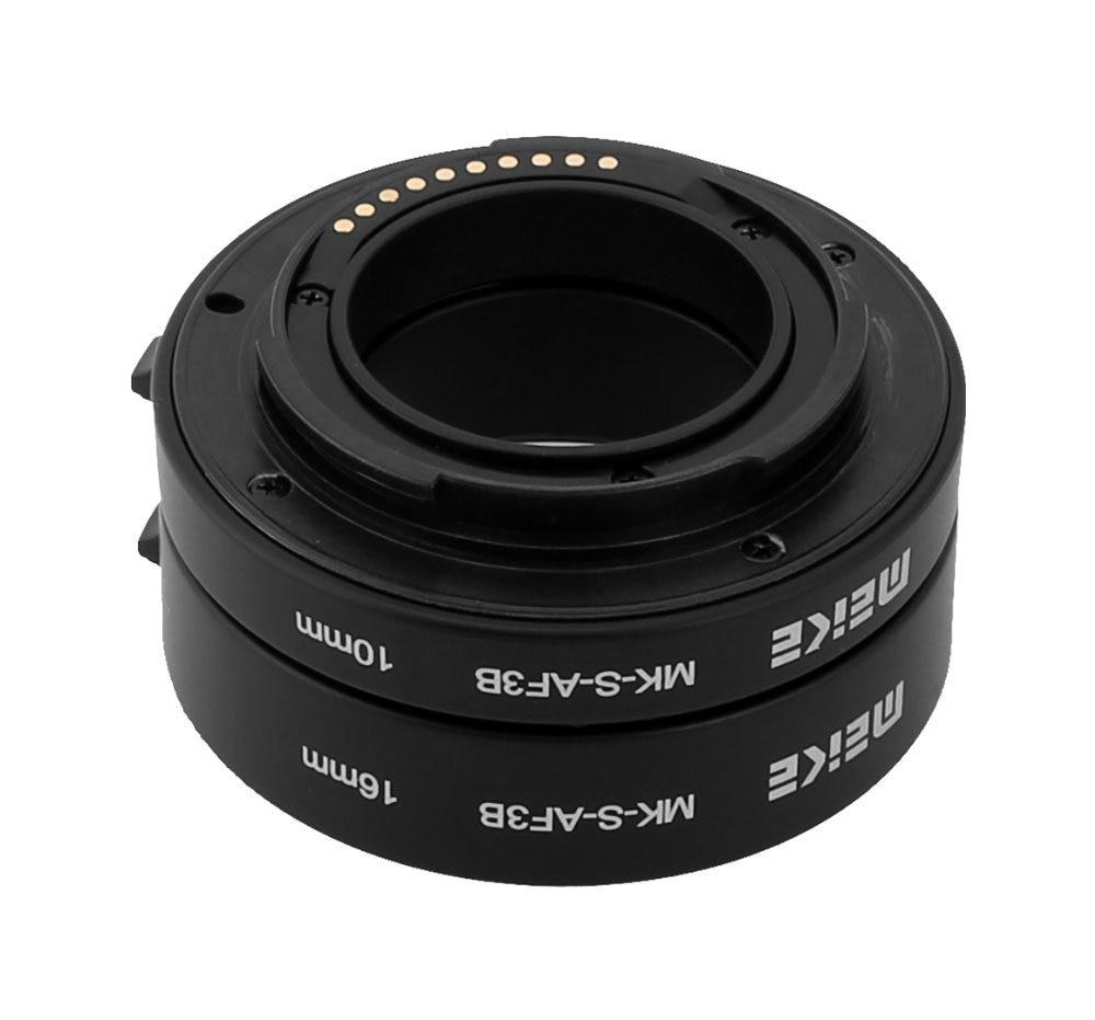 """""""Meike MK-S-AF3B AF"""" prailginimo vamzdelio objektyvas """"Sony NEX Micro DSLR (10mm, 16mm)"""" E-Mount NEX-3 """"NEX-5 NEX-VG10 kamera"""