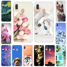 For Samsung Galaxy A40 Case 2019 Cute Cat Fashion Soft Silicone Back Cover Coque For Samsung A40 A 40 Phone Case A405F SM-A450F отсутствует страницы богословие культура образование том 18 выпуск 1