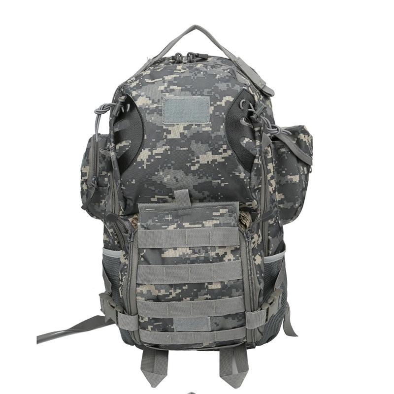 Di green Campeggio Pesca Zaino acu purpose Tattico Black 45l Militare Sacchetto cp Sistema Multi Molle Dello qwHPxznvFO