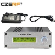 CZE-T251 25 Вт fm передатчик моно/стерео PLL вещательная станция с питанием