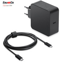 65 W סוג-C האיחוד האירופי plug מטען קיר מתאם נייד ספק כוח מטען xiaomi מחברת אוויר עבור ה-macbook 12 13 inch לxps 12x1