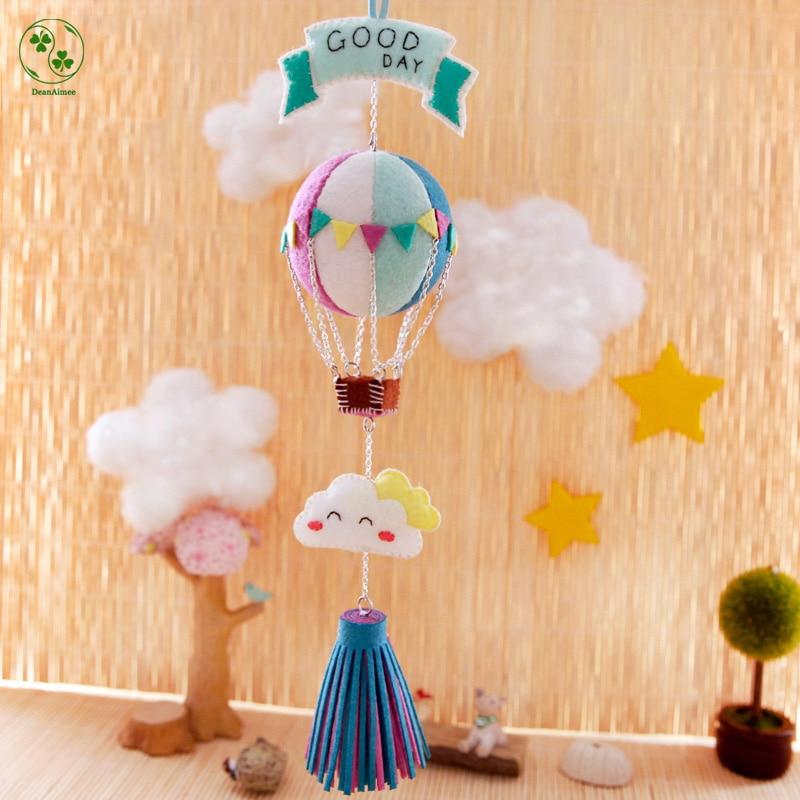 Free Cut Hot Air Balloon Ornaments Diy