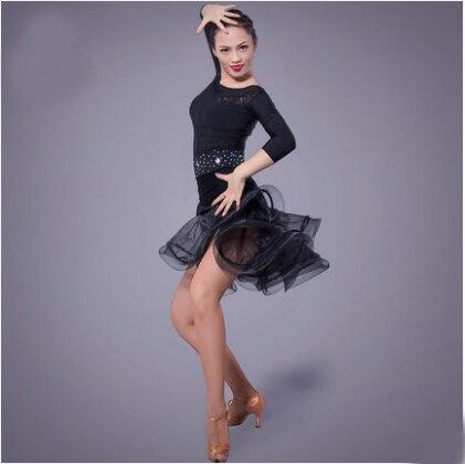 Fustan Vallëzimi Latin Gratë Sexy Ballroom Tango Vallëzimi Vajza - Arte, zanate dhe qepje - Foto 2