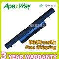 Apexway 6600 mah batería del ordenador portátil para acer aspire 3820 t 3820 4745 4745g 4745z 4820 4820 t 4820g 5820 5820 t as10b73 as10b75 as10b7e
