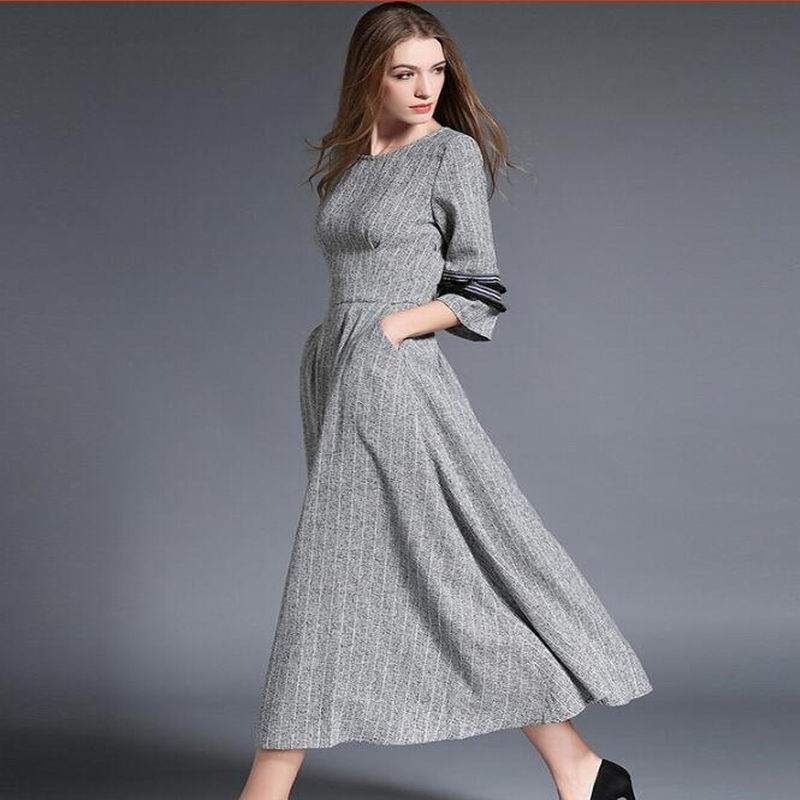 High quality new fashion 2016 designer maxi dress women 39 s for High couture clothing