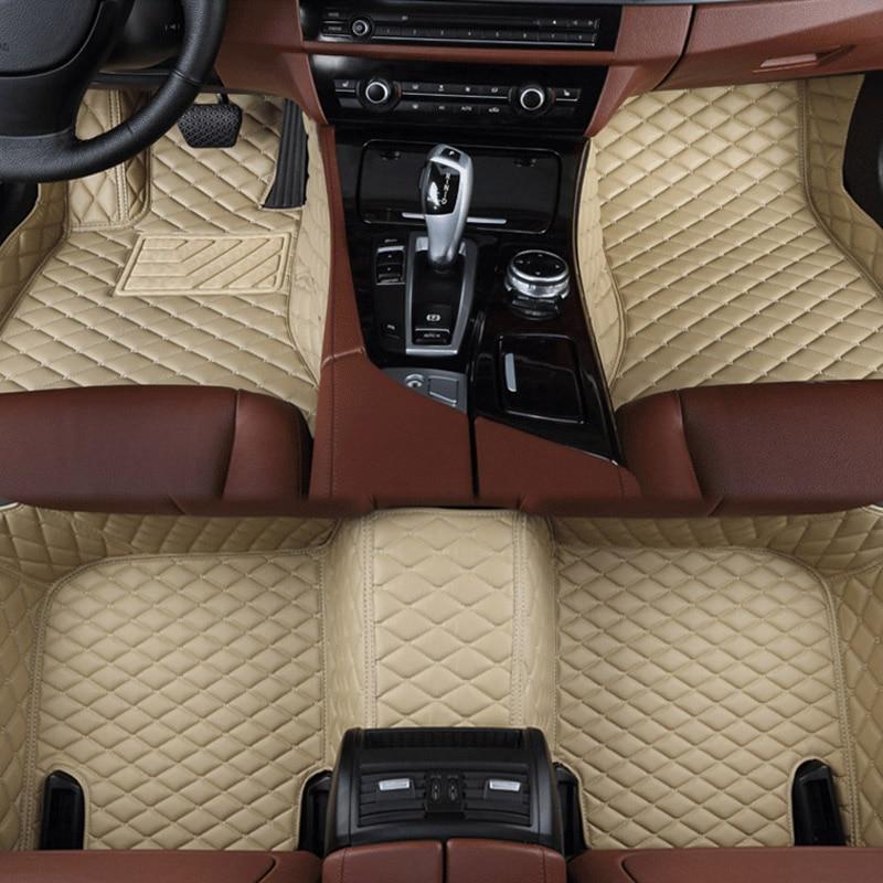 Tapis de sol de voiture pour Audi A6L R8 Q3 Q5 Q7 S4 S5 S8 RS TT Quattro A1 A2 A3 A4 A5 A6 A7 A8 accessoires de voiture auto bâtons de pied Personnalisé - 6