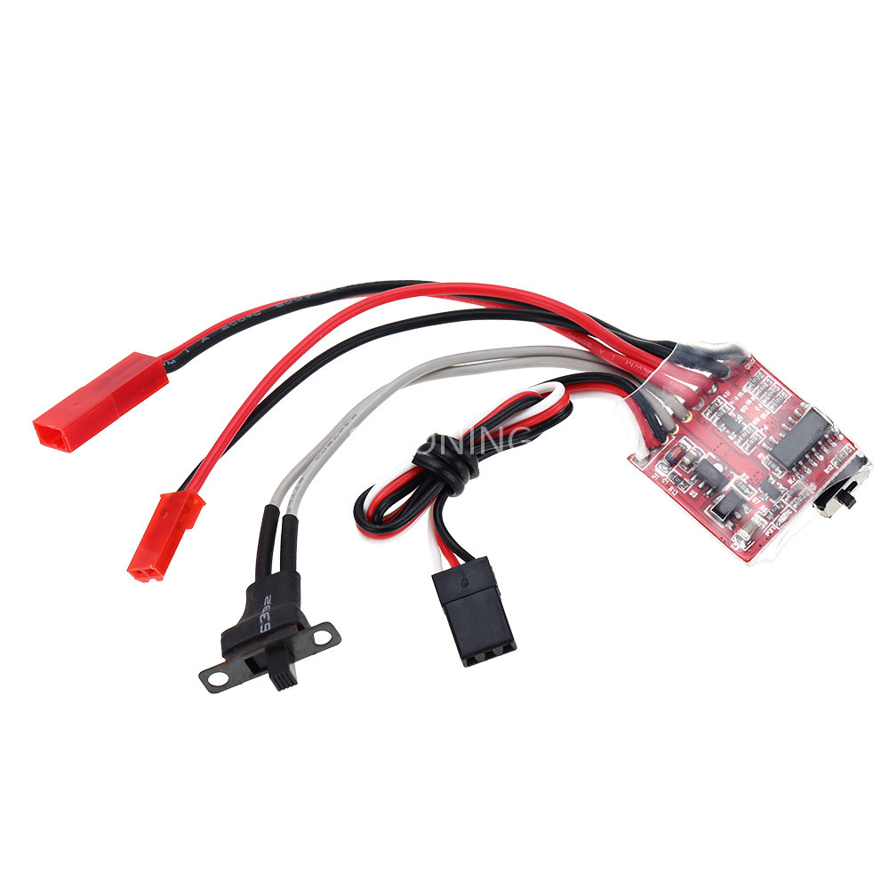 <font><b>30A</b></font> <font><b>ESC</b></font> <font><b>Brushed</b></font> Electronic Speed Controller without Brake for RC tank boat car image