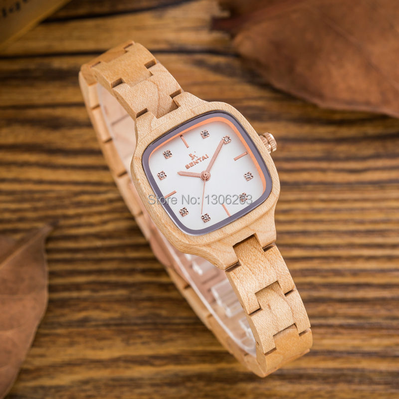 Wood Watch Luxury Brand Wood Watch Women Analog Natural Quartz Movement Diamond Small Size Wristwatches Clock Relogio Masculino wood watch luxury brand wood watch women analog natural quartz movement diamond small size wristwatches clock relogio masculino
