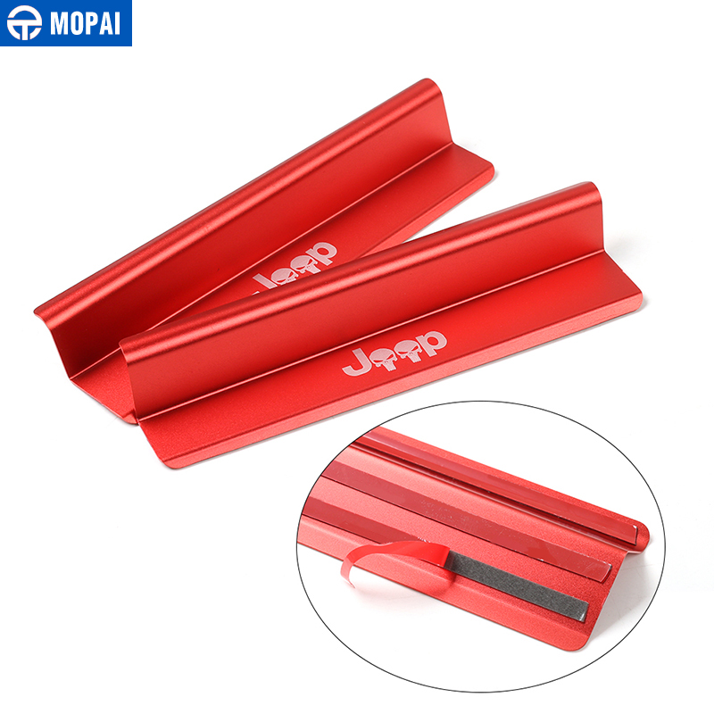 Image 5 - MOPAI New Style USA Flag Logo Skull Door Sill Scuff Plate Protector Welcome Pedal for Jeep Wrangler JK 2007 2016 Car Styling-in Pedals from Automobiles & Motorcycles