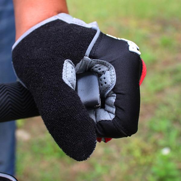 2016 Hot Cykelhandskar Cykelsport Full Finger Handskar GEL Pad Shock - Cykling - Foto 5