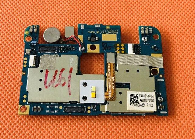 "Original mainboard RAM 4G + 64G ROM เมนบอร์ดสำหรับ UMIDIGI C2 MTK6750T Octa Core 5.0 ""FHD ฟรีการจัดส่ง"