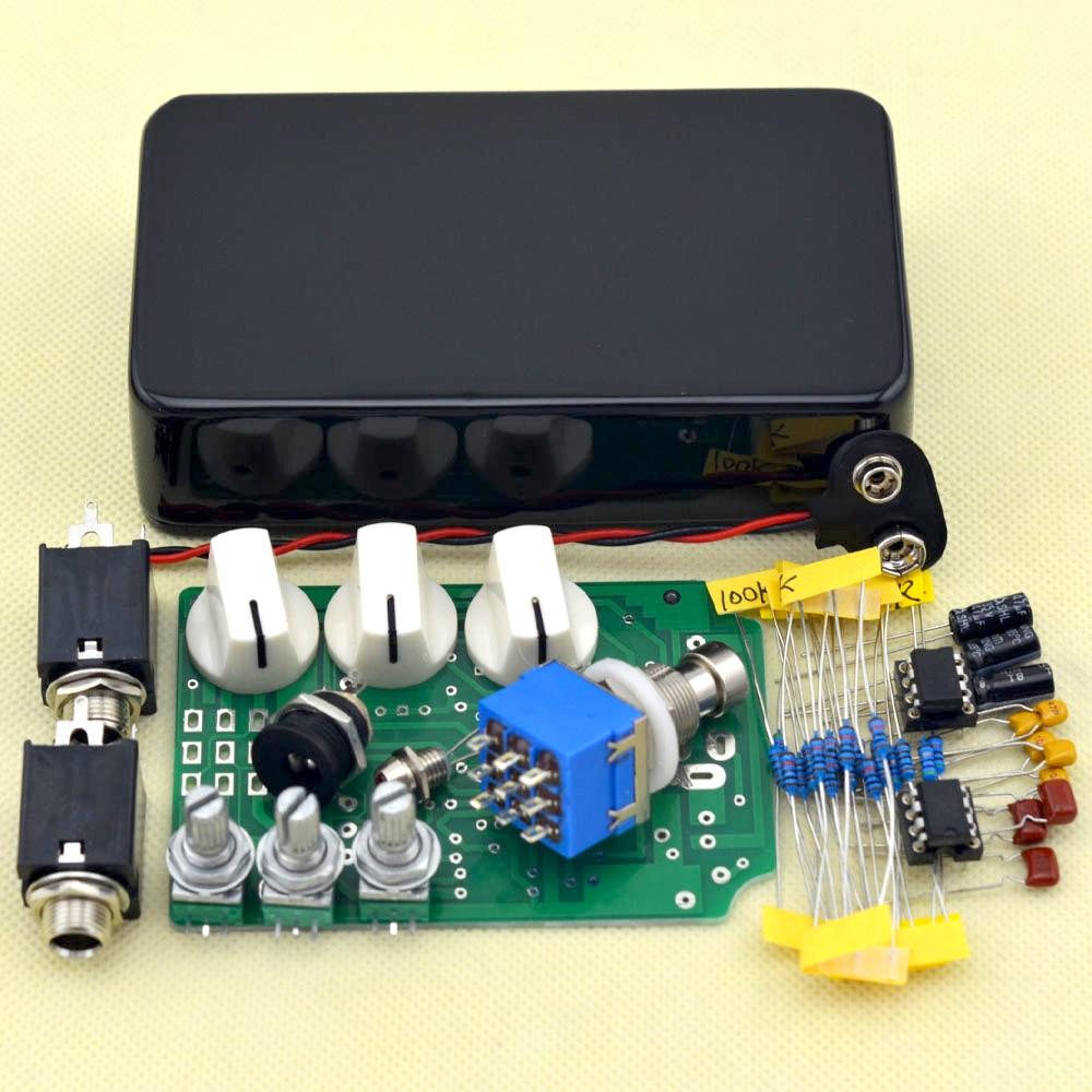 Kit de pedal de efectos de guitarra Overdrive DIY con kits de pedales - Instrumentos musicales - foto 2