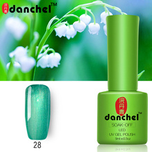 New Danchel 1PC Nail Gel Polish UV&LED Shining Colorful 79 Colors 9ML Long Lasting Soak Off Varnish Primer Manicure Nail Art Lak