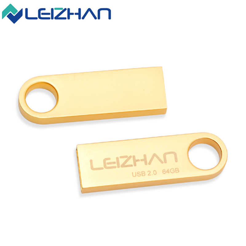 Фото Реальная емкость металлический Флешка 64 Гб прямые продажи с фабрики USB карта