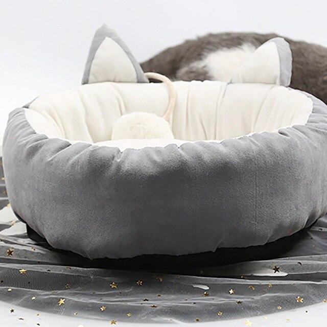 Hoomall Pet Base Del Cane Caldo Cotone Casa Del Cane Letto Morbido e Divano Cane Nido Cestini Autunno Inverno Canile Per Il Gatto cucciolo Animali Domestici di trasporto di Goccia