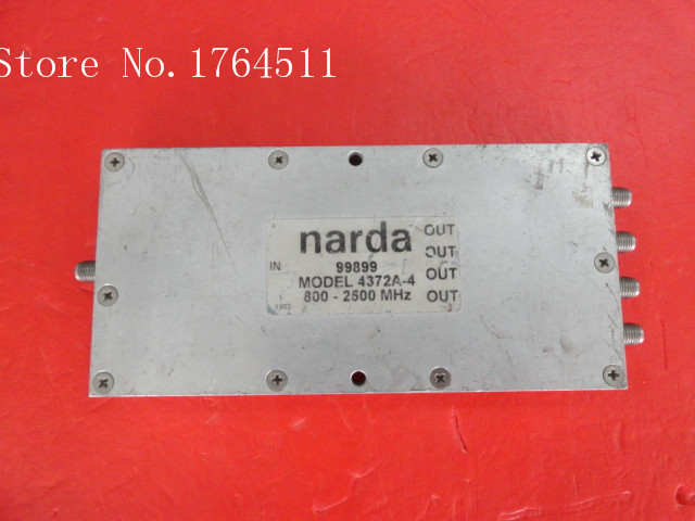 [BELLA] A Two Narda Power Divider 4372-2 800-2500MHz SMA