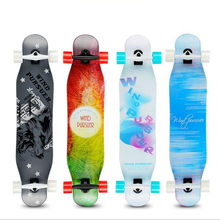 Professional Long board Dancing 107CM Highway Downhill Skateboard Freestyle Road Brush Street Skate Longboard professional maple complete skateboard longboard adult road street dancing downhill drift skate board longboard dancing board