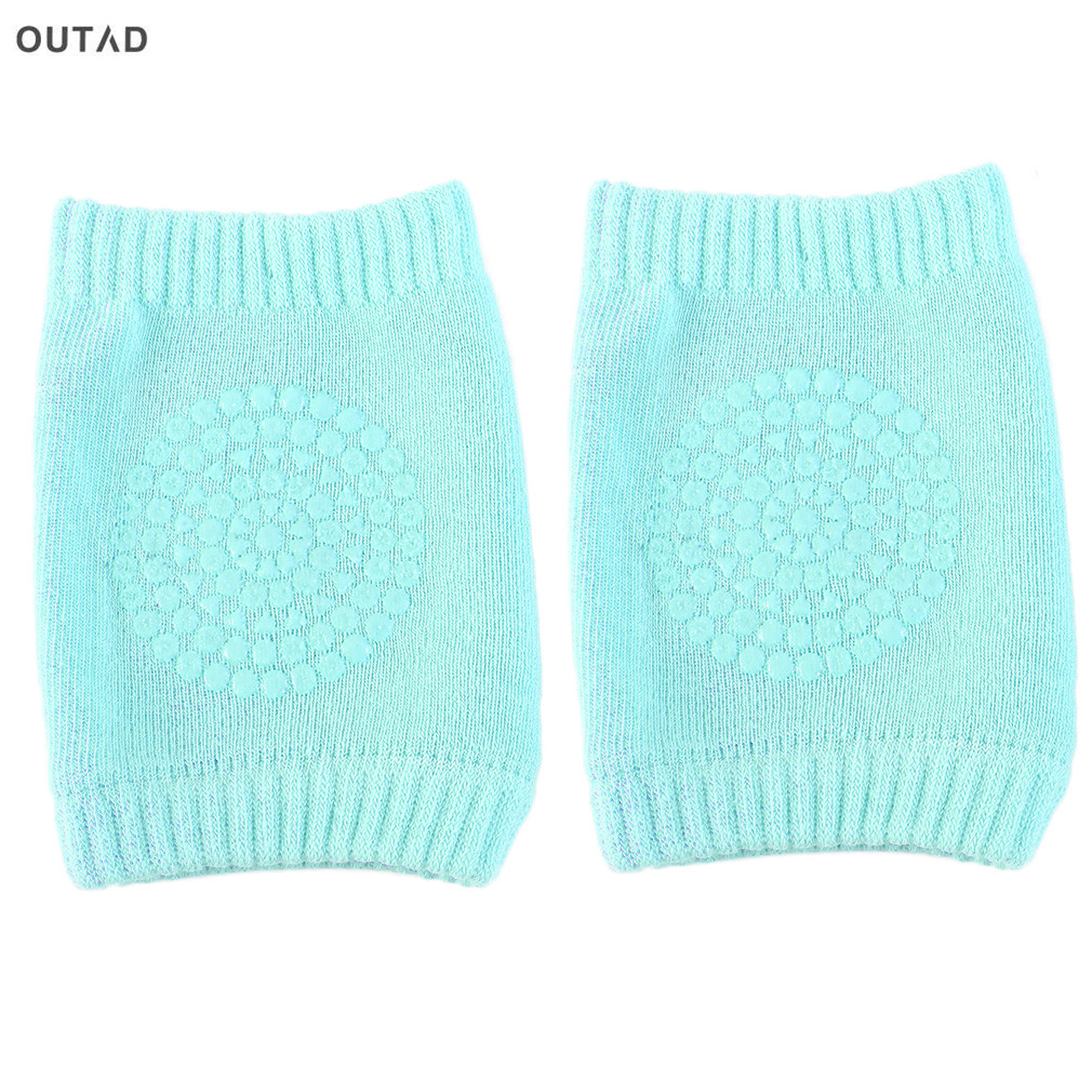 OUTAD Newborn Baby Knee Pad Kids Safety Breathable Crawling Elbow Knee Protective Pad Warmers For Infant Toddlers New sale ...