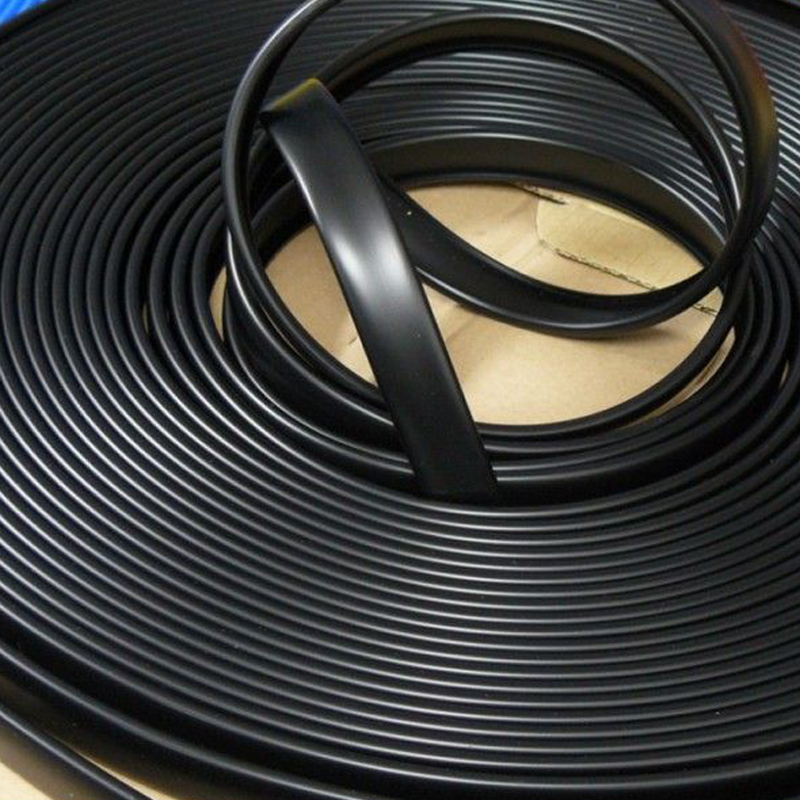 20ft 6m Length Black Plastic U-Molding U Moulding For 3/4