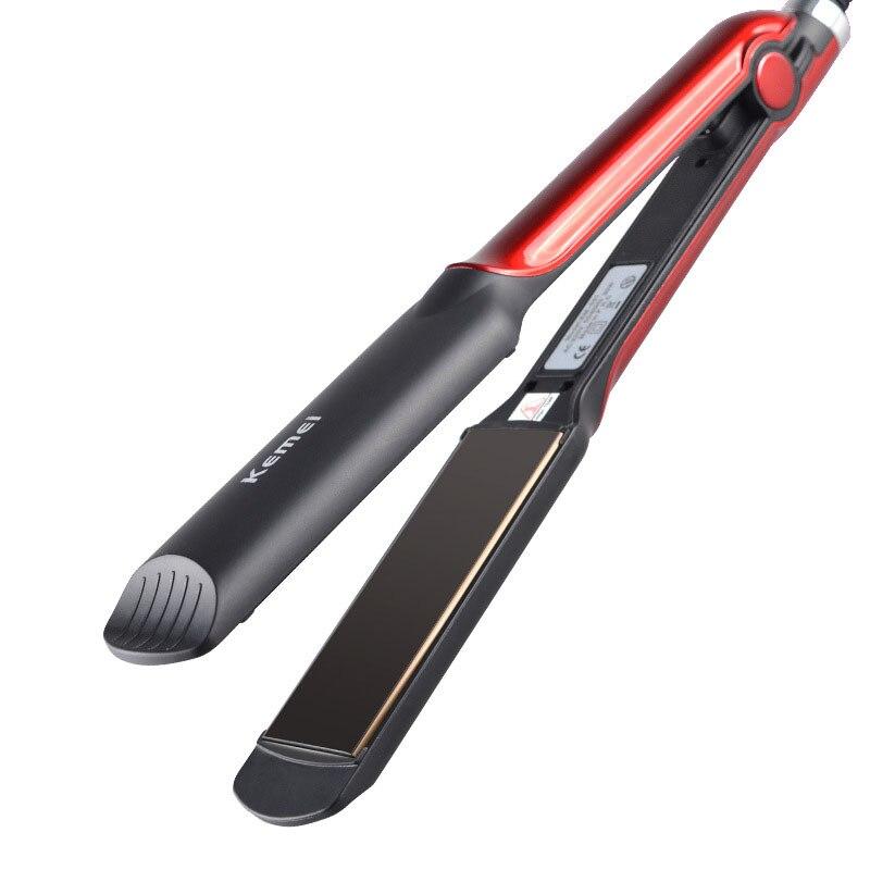 Kemei KM-531 wet and dry hair straightener